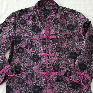 Robert Louis EUC oriental jacket pink black S